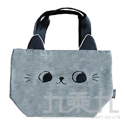 O-cat貓耳小提袋(灰) JBG-194A