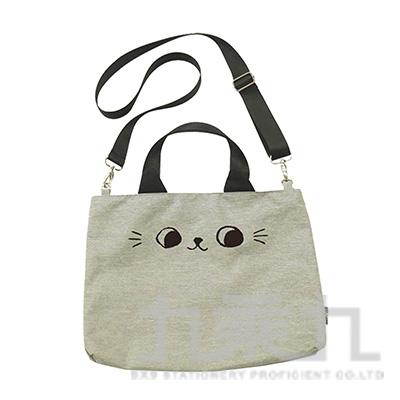 O-cat可愛貓耳潮流托特包(灰)