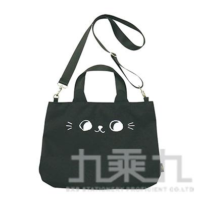 O-cat可愛貓耳潮流托特包(黑)