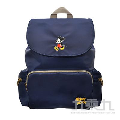 迪士尼悠悠休閒後背包-米奇(藍) LW-A3142B