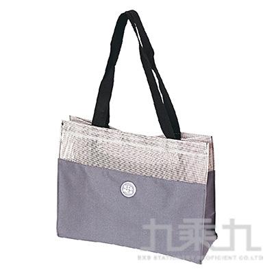 USE ME網格手提袋(灰)SBG-277A