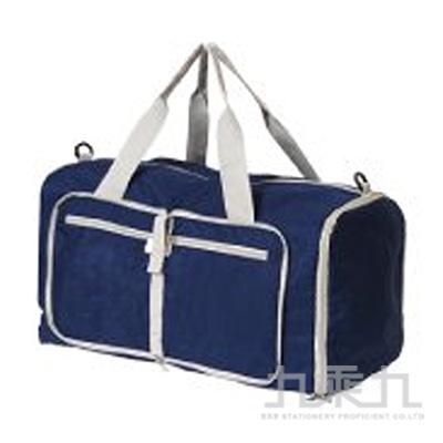 萬用摺疊側背袋(藍)-簡單生活 CZ-275C