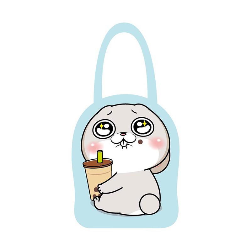造型水壺提袋(喝珍奶)-好想兔 CBG-426B