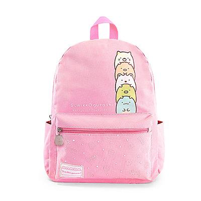 當我們窩在一起後背包-粉色PK