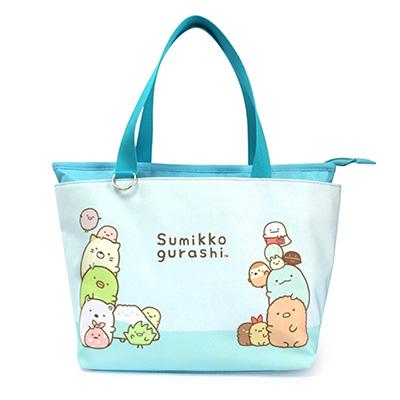 歡聚小品手提包-粉藍WB
