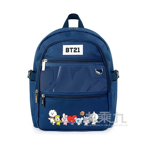 BT21夢想宣言後背包(中)藍色