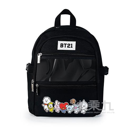 BT21夢想宣言後背包(中)黑色