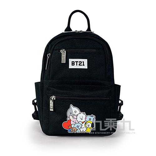 BT21夢想宣言小後背包-黑色