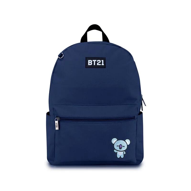 BT21率性風格後背包-藍色K