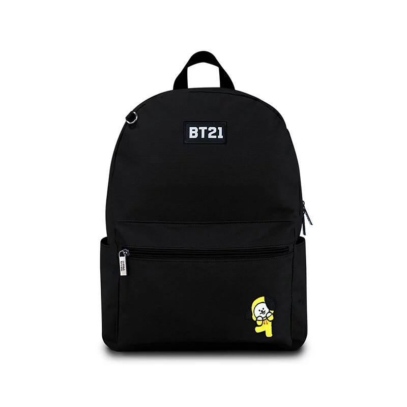 BT21率性風格後背包-黑色H