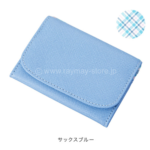 Raymay nofes零錢包+卡夾/薩克斯藍
