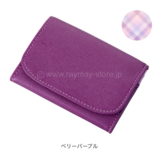 Raymay nofes零錢包+卡夾/漿果紫