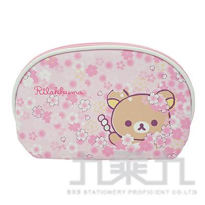 拉拉熊 貝殼化妝包櫻花版 RKB21151A