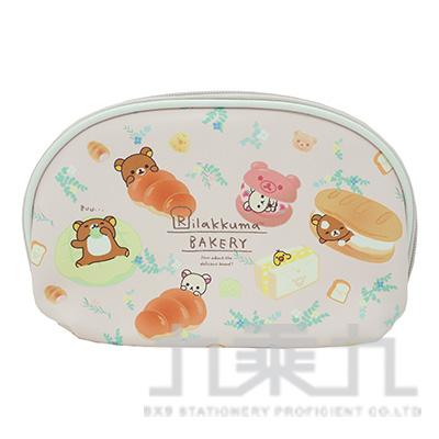 拉拉熊 貝殼化妝包麵包版 RKB21151B