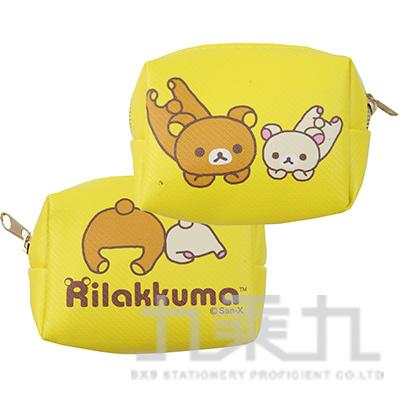 拉拉熊方型小錢包-躺躺版 RKB28322B