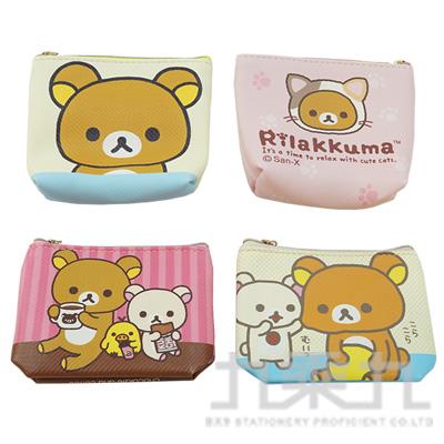 拉拉熊斜紋皮革錢包 RKB100A (款式隨機)