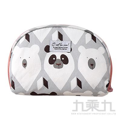 收納包(禮物盒子-粉熊) 72451A