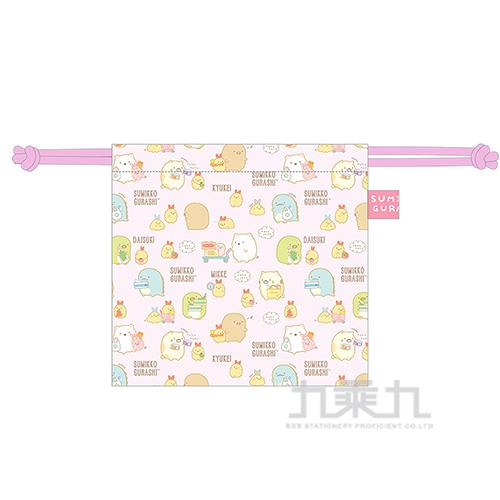 小夥伴立體束口袋-粉 SGGD0501
