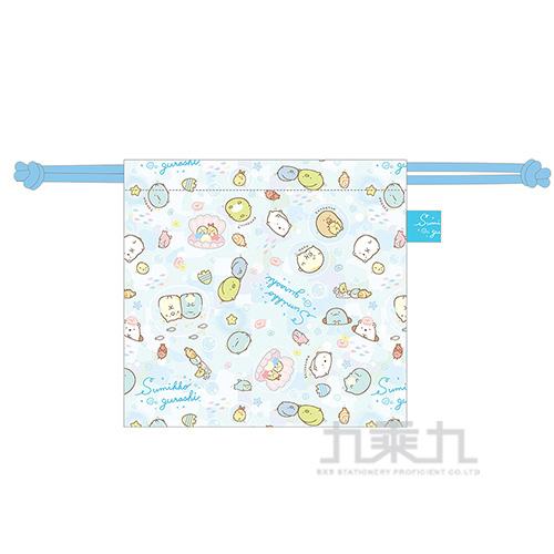 小夥伴立體束口袋-藍 SGGD0502