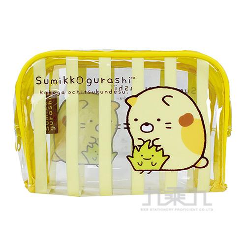 角落小夥伴旅行大方盥洗袋2黃