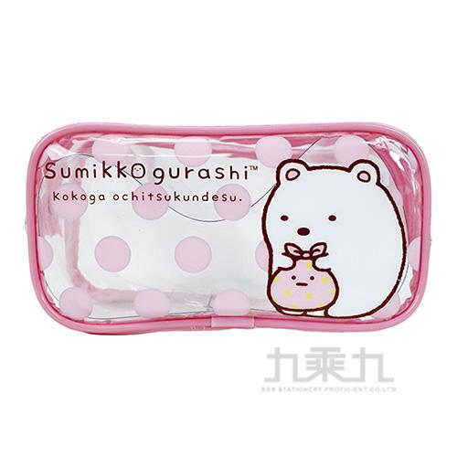角落小夥伴旅行造型盥洗袋2粉紅