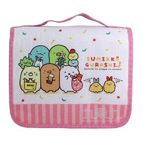 角落小夥伴折疊旅行收納袋2-粉紅