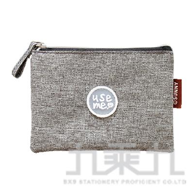USE ME滴注雙層零錢包(灰)SBG-267A