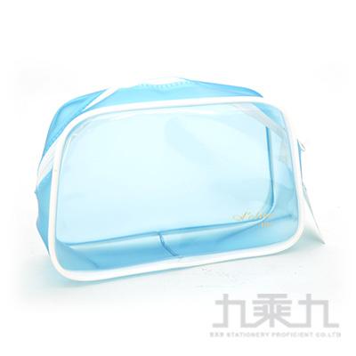 ACTIVE LIFE 方透明袋(藍) KWP-03A