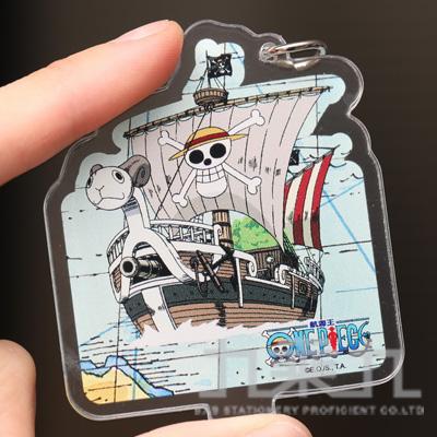 航海王壓克力吊飾立牌(梅利號)