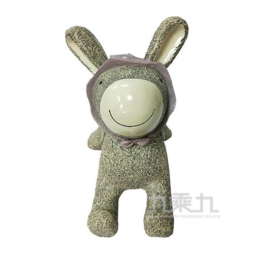 療癒擺飾小物-背包兔(中) 21806