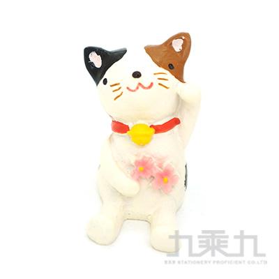 療癒擺飾小物-櫻花貓