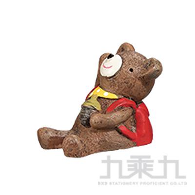 療癒擺飾小物-小熊背包