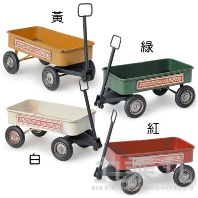 KS 復古仿舊鐵製拖車