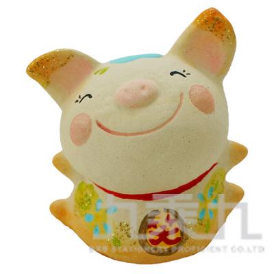 微笑最棒擺飾-豬6cm K8052