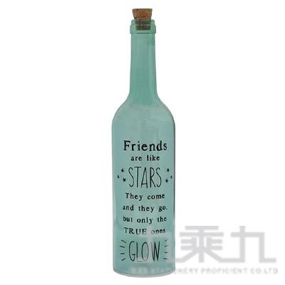酒瓶燈飾STAR-綠  BOLIGLMI
