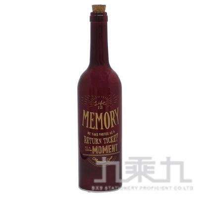 酒瓶燈飾藝術字-深紫  BOLISIBU