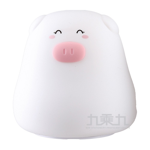 小萌豬七彩拍拍小夜燈 CX-TP127