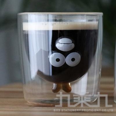 奧樂雞造型雙層玻璃杯
