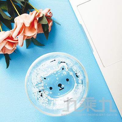 白白日記雙層玻璃杯