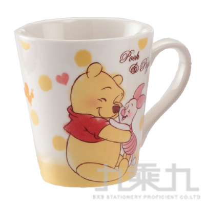 T/G進口迪士尼新水彩馬克杯維尼 606528