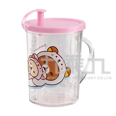 拉拉熊吸管杯水獺粉 RK52392A