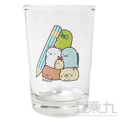 角落小夥伴乾拜玻璃杯-筆版 SG70082A