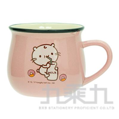 麻吉貓牛奶杯-喝牛奶款 GM1703-2