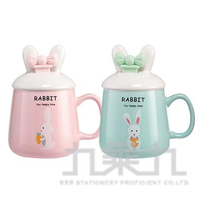 可愛兔耳造型蓋杯 CP179-03