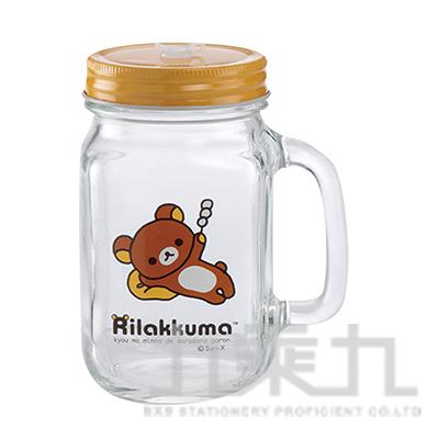 拉拉熊玻璃梅森杯-丸子