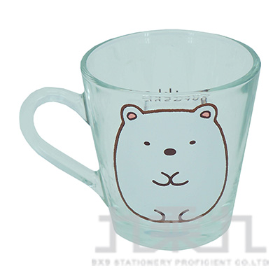 角落小夥伴玻璃馬克杯-白熊