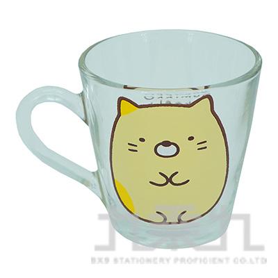 角落小夥伴玻璃馬克杯-貓咪