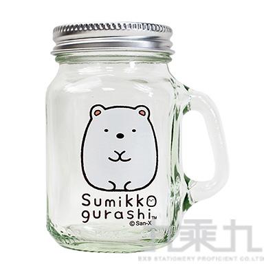 角落萬用梅森罐-白熊