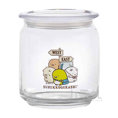 角落小夥伴500ML玻璃食物分裝罐-旅行