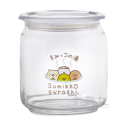 角落小夥伴500ML玻璃食物分裝罐-溫泉